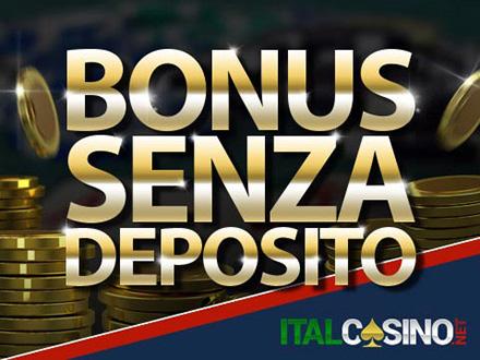 bonus senza deposito dei casino