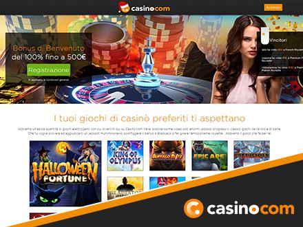 homepage di casino.com