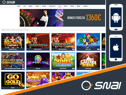 casino online per smartphone