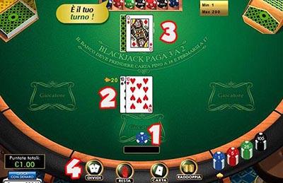 Regole blackjack casino aqua caliente casino hotel