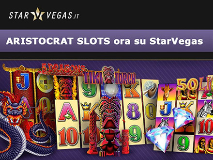 Slot machines Aristocrat nel casino online Starvegas