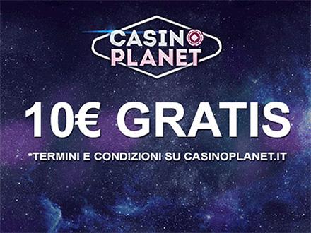 casino online 10 euro senza deposito