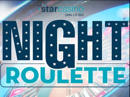 Starcasino roulette Night