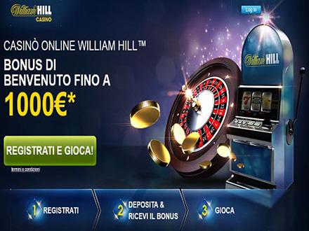 f93cc0e664a Bonus e Promozioni di William Hill casino