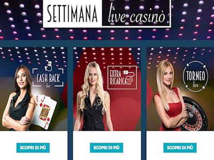 Settimana Live StarCasino