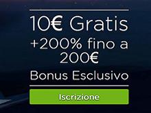 casino.com bonus di 10€ senza deposito