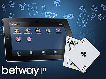 betway casino bonus senza deposito