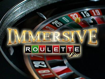 la nuova Immersive Roulette dal vivo