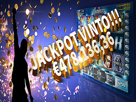 jackpot nel casinò William Hill