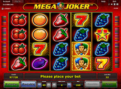 La slot machine Mega Joker