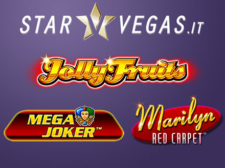 nuove slots nel casino online Starvegas