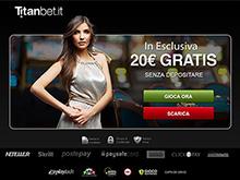 bonus in esclusiva di 20€ nel casino online titanbet