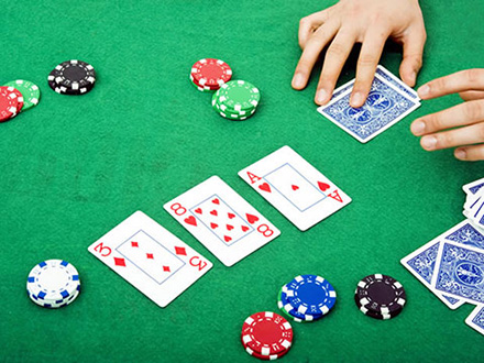 il flop nel texas hold'em