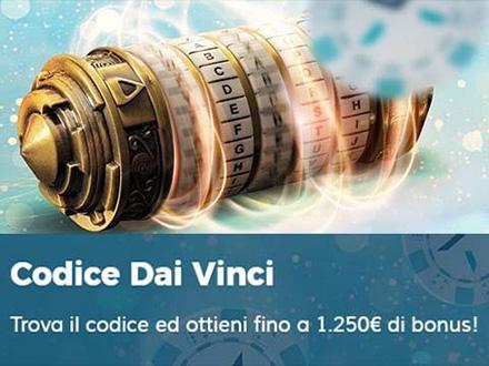Codice Dai Vinci di starcasino