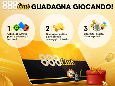 programma fedeltà 888casino.it