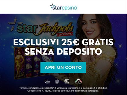 StarJackpots la slot machine esclusiva di StarCasino