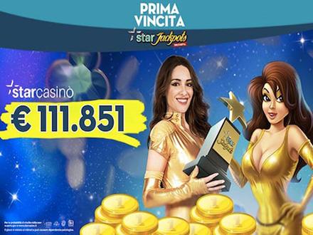 vinti 111.851€ alla slot Star-Jackpots di StarCasino