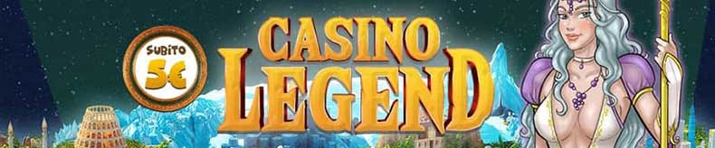 bonus avatar casino legend