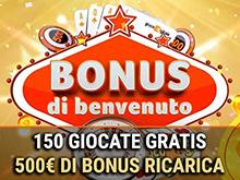 bonus di benvenuto Gioco Digitale casino