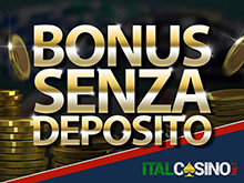 bonus senza deposito immediato dei casino online
