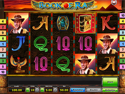 test online casino slot games book of ra