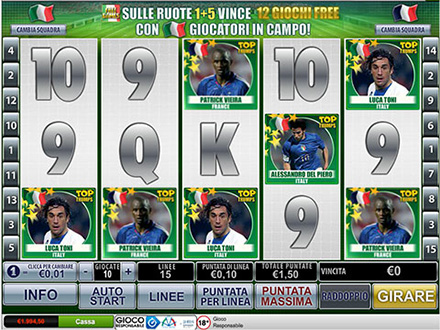 la slot machine Top Trumps World Football Stars