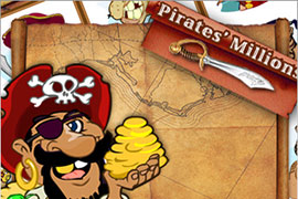 slot machine Pirates' Millions