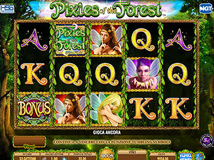 la slot machine Pixies of the Forest