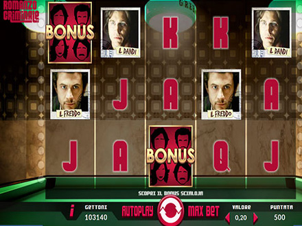 la slot machine Romanzo Criminale
