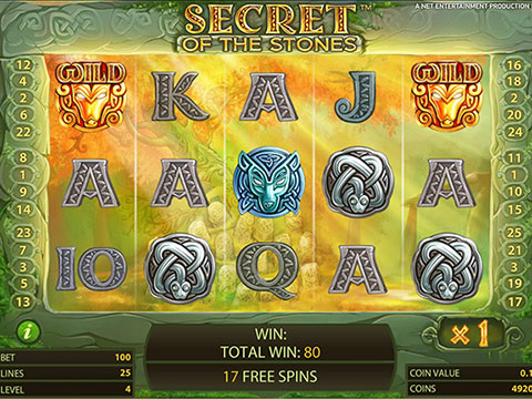 le giocate gratis in Secret of the Stones