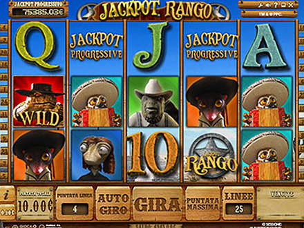 la slot machine Rango
