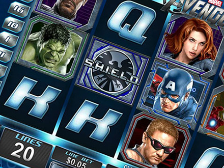la slot machine Playtech The Avengers
